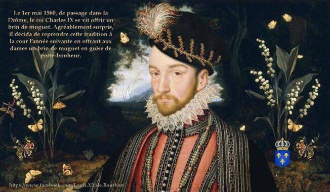 シャルル9世の人物画