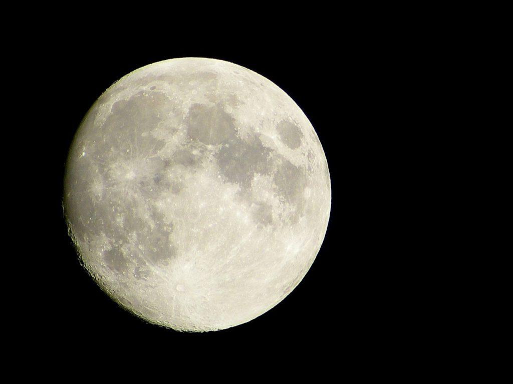 お月様の画像