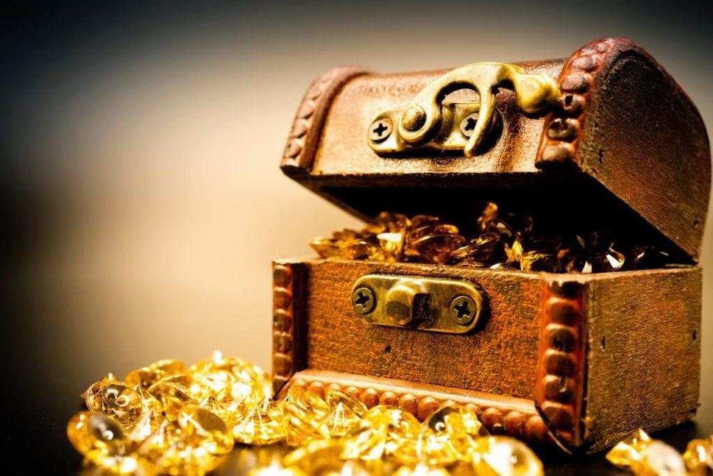 宝箱の写真