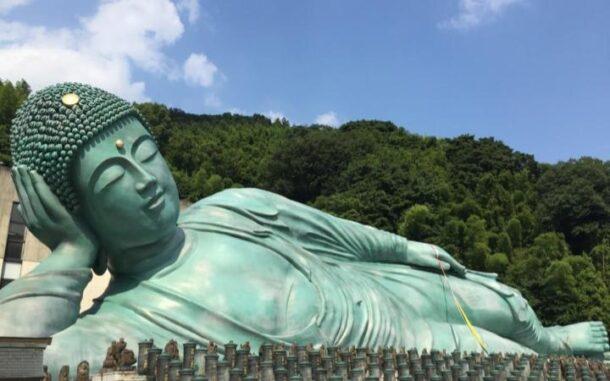 涅槃仏の写真