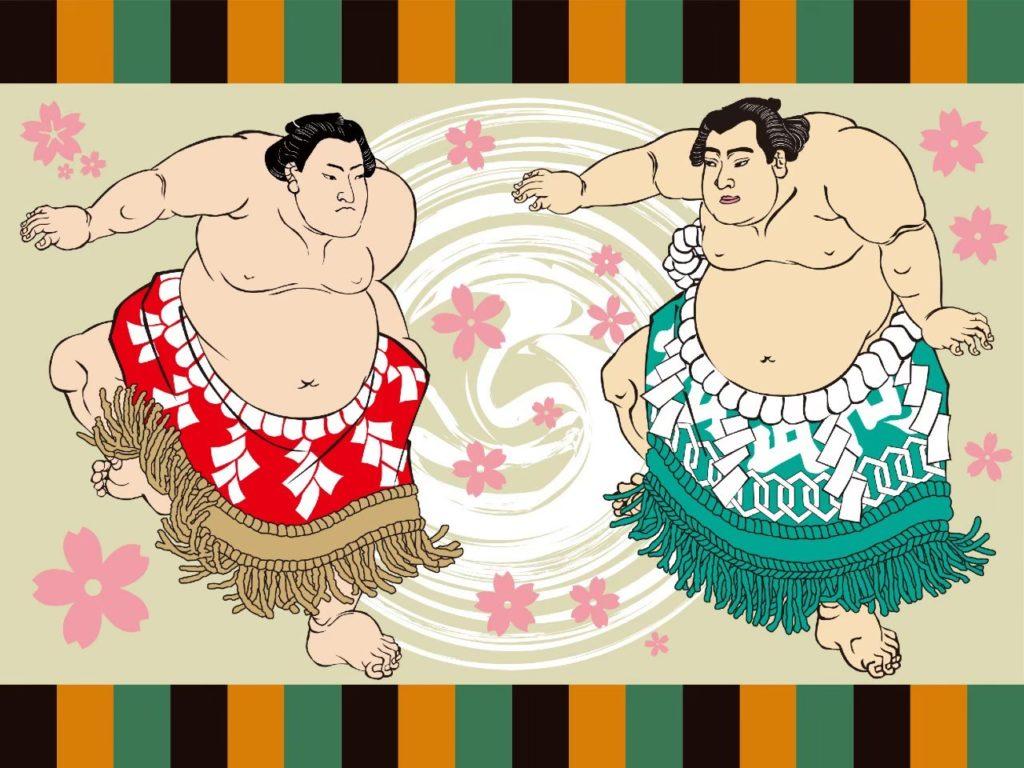 お相撲さんのイラスト