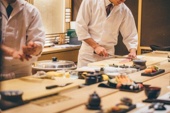 和食カウンターの写真