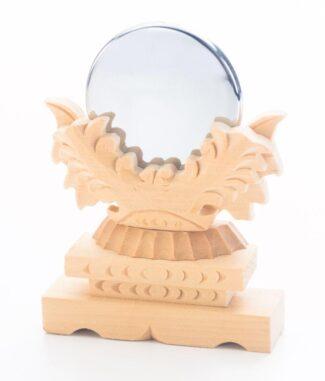 神具の神鏡の写真