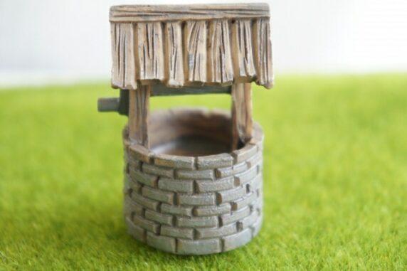 井戸の模型写真
