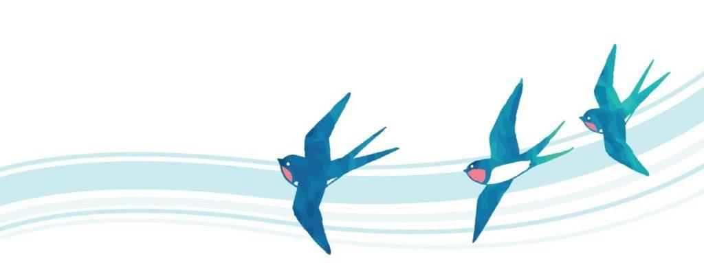 ツバメのイラスト