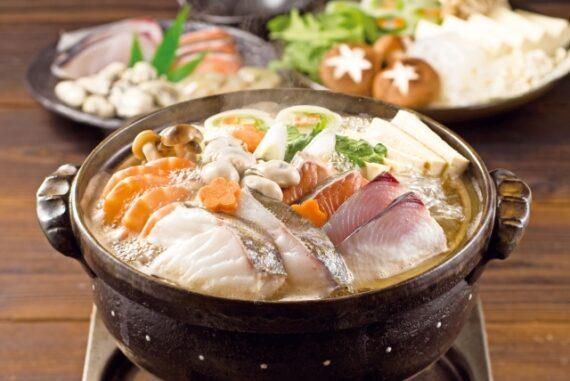 海鮮鍋の写真