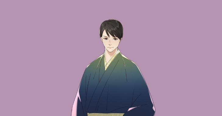イケメンの男性のイラスト