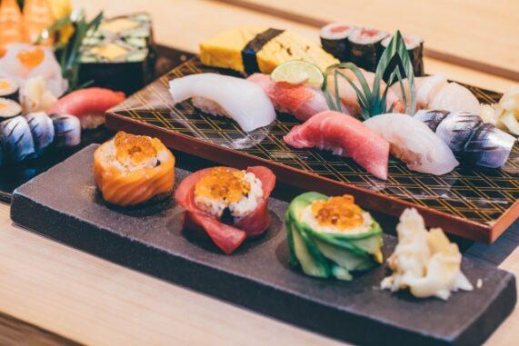 高級そうなお寿司の写真