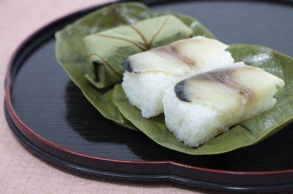 柿の葉寿司の写真