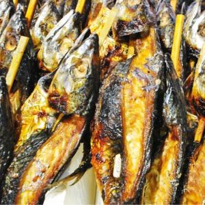鯖の串焼きの写真