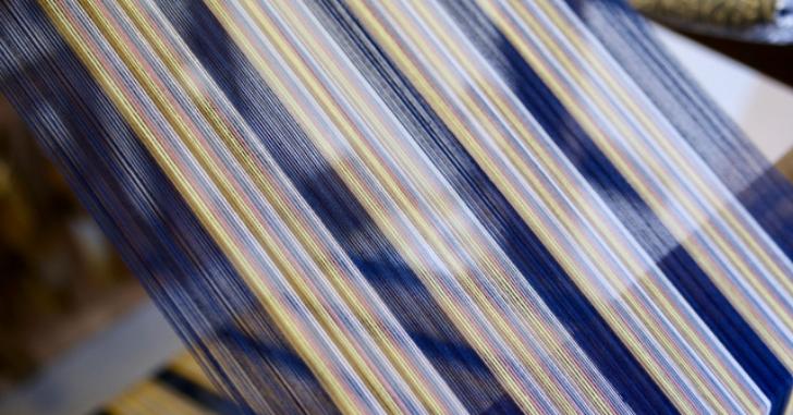 機織り機の写真