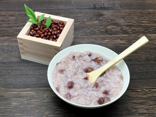 小豆粥の写真